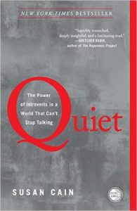 Quiet the power of introverts Susan Cain